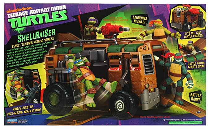 Teenage Mutant Ninja Turtles Shellraiser calle Asalto a la ...