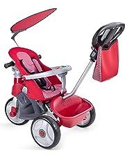 FEBER Baby Trike Easy Evolution, triciclo Color rojo 24.9 x 14.0 x 11.9 Famosa 800009473