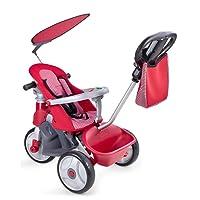 FEBER - Triciclo Baby Trike Easy Evolution, color rojo (Famosa 800009473)