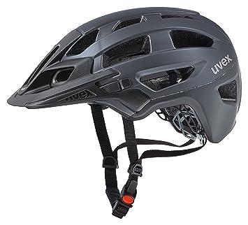 Uvex Finale Casco de Ciclismo, Unisex Adulto, Plateado Oscuro/Negro (Mate)