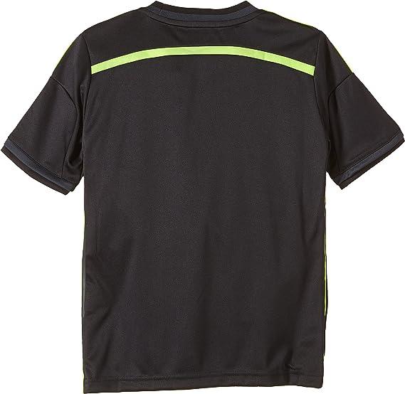 adidas FEF Away Jersey - Camiseta de Manga Corta para niños, diseño de la Selección de fútbol de España visitante: Amazon.es: Ropa y accesorios
