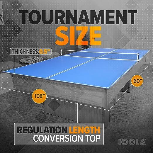 Amazon.com: JOOLA - Juego de 4 piezas de tenis de mesa con ...