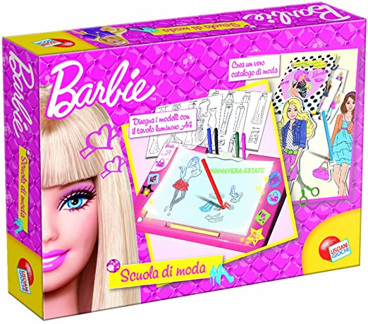Liscianigiochi 35212 Barbie Scuola Di Moda Amazonit Giochi E