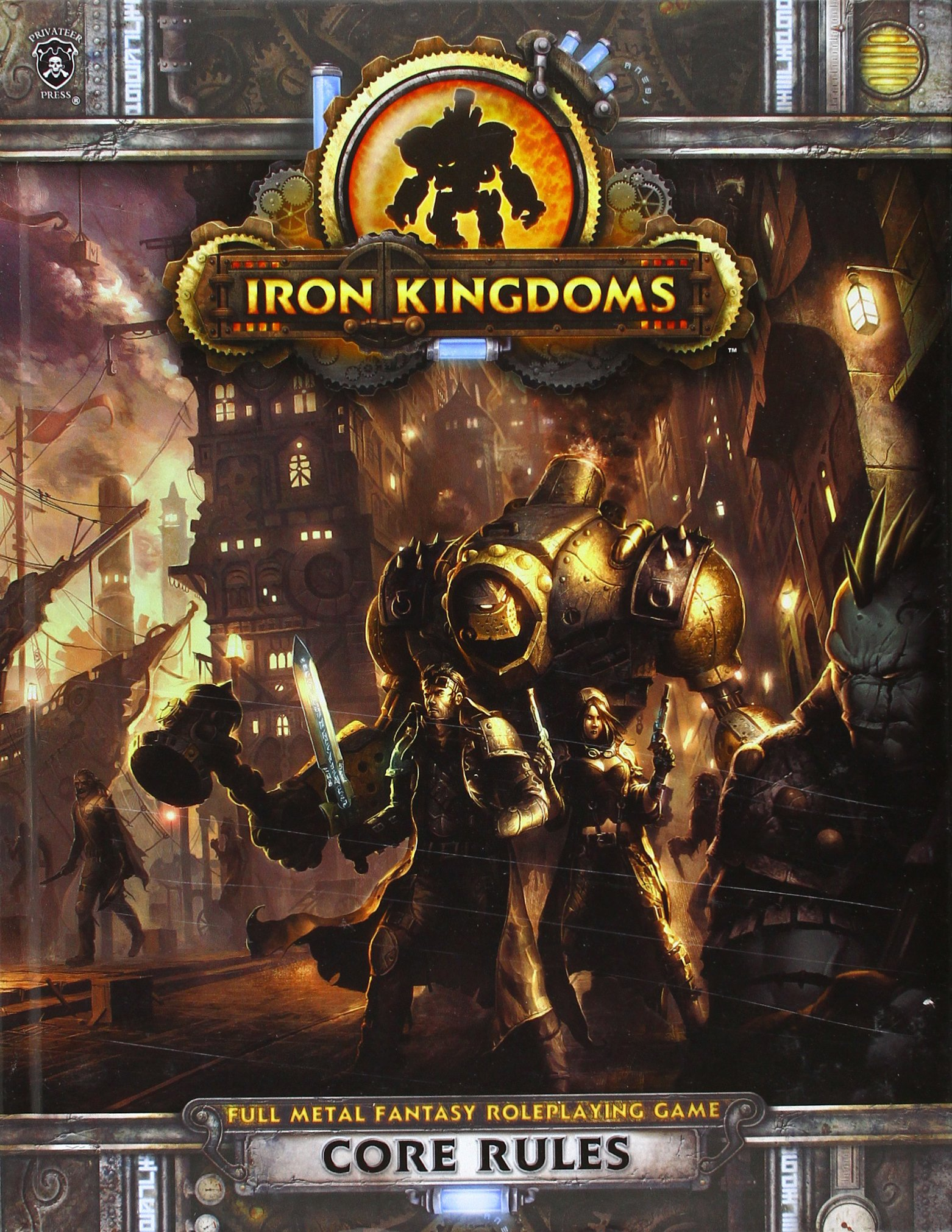 Iron Kingdoms RPG Core Rules