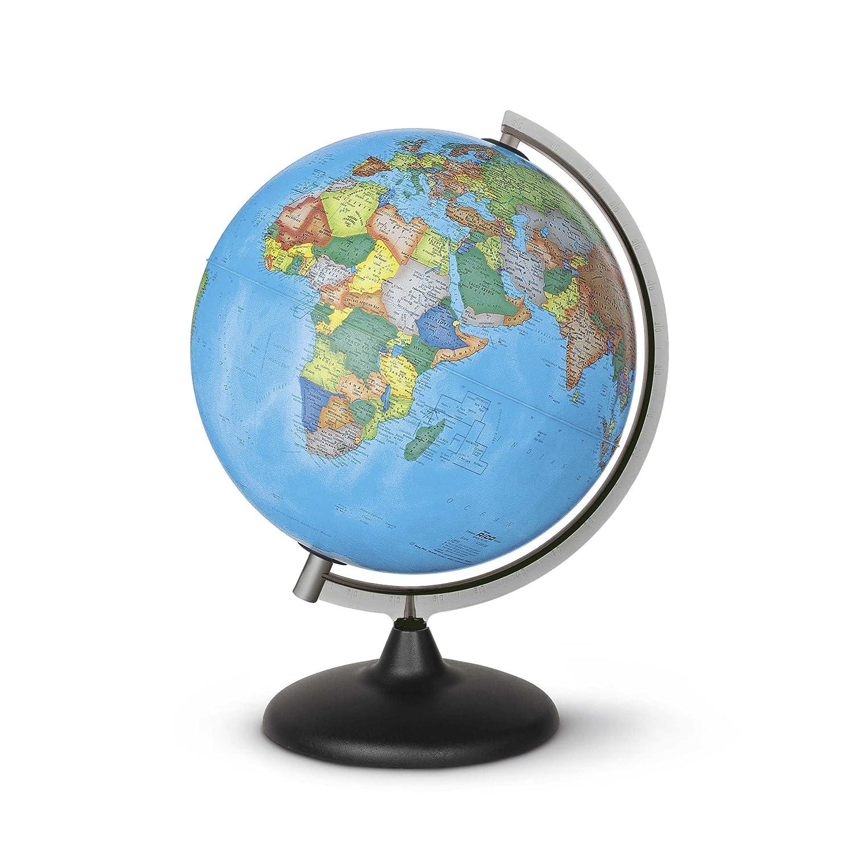 Nova Rico Corallo Politcal Non-Illuminated Globe - 30 cm 0330COPFIN0NF066 Geography & Maps
