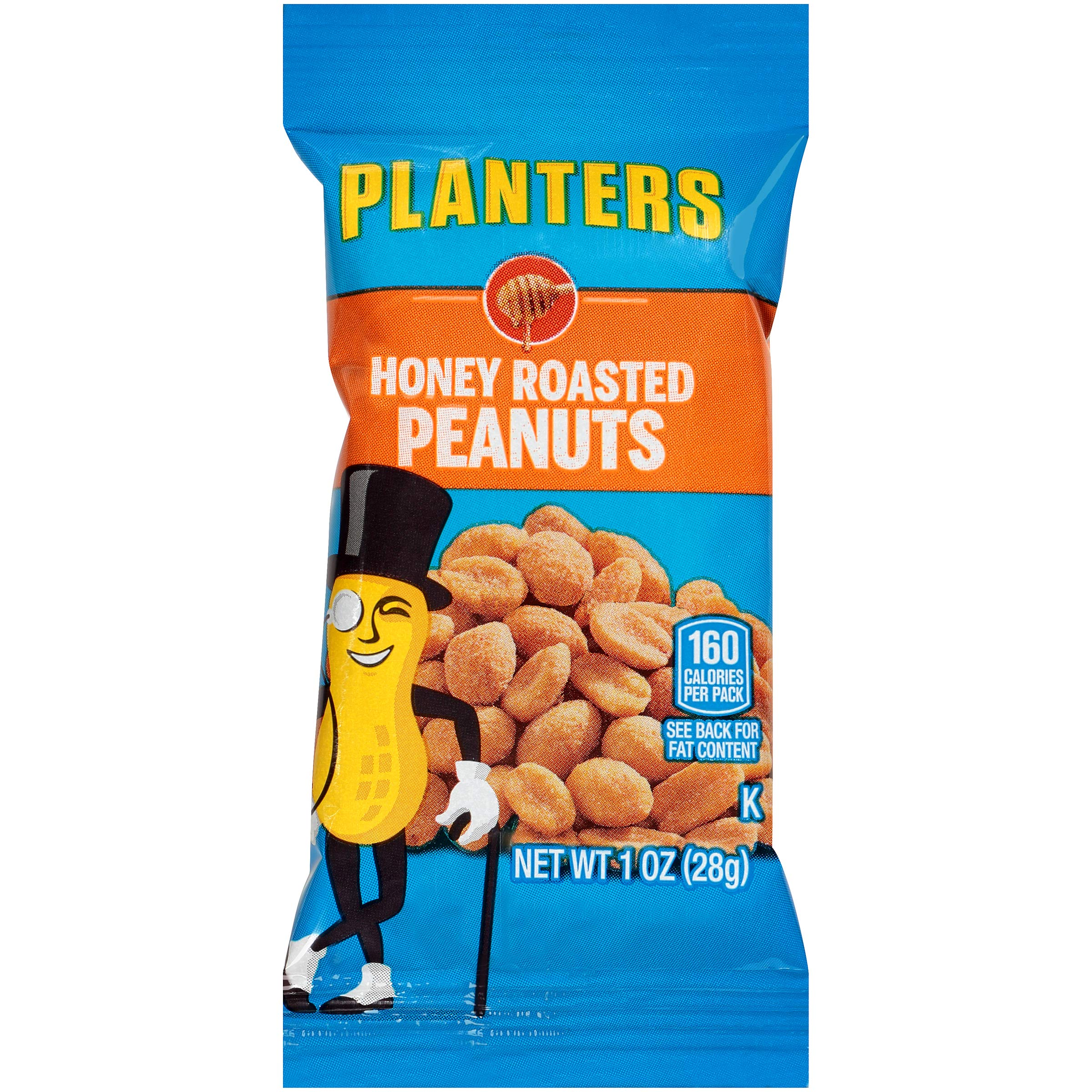 Planters Honey Roasted Peanuts (1 oz Bags, Pack of 144) by Planters