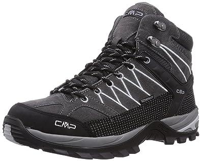 XI-GUA , Scarpe da camminata ed escursionismo uomo, Grigio (Grau), 49