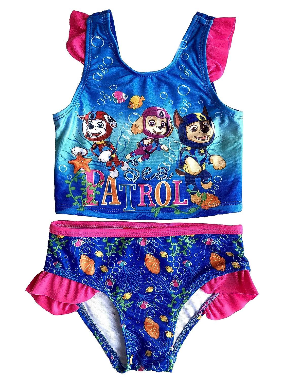 Toddler Girls Paw Patrol 2 Piece Swimsuit