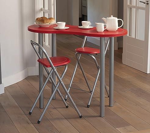 Amazon.De: Küchenbar Küchentisch Tisch Küche Mit 2 Stühlen