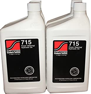 715 Power Steering/Hydraulic Oil Case of 4qts.