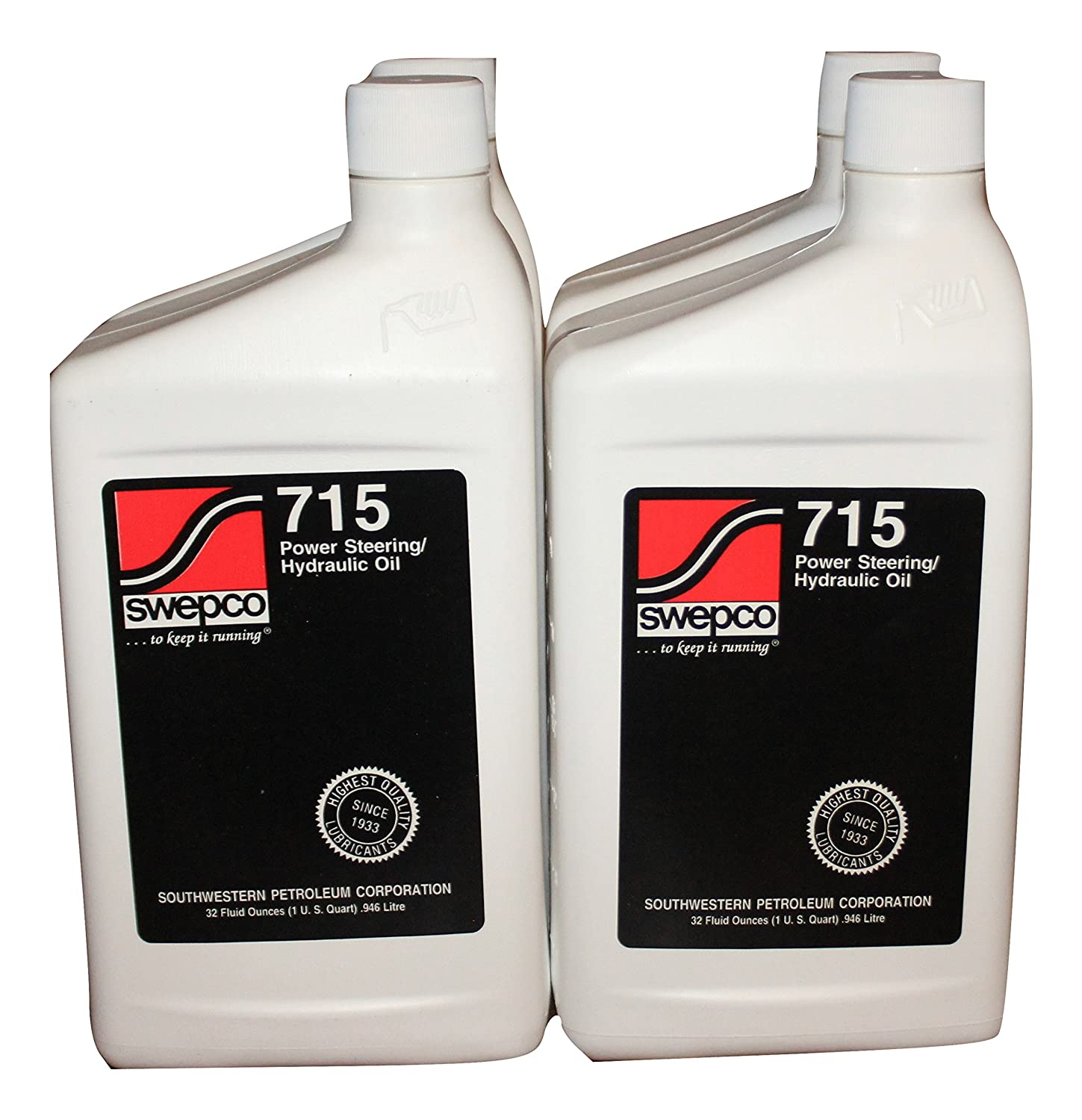715 Power Steering/Hydraulic Oil Case of 4qts. Swepco