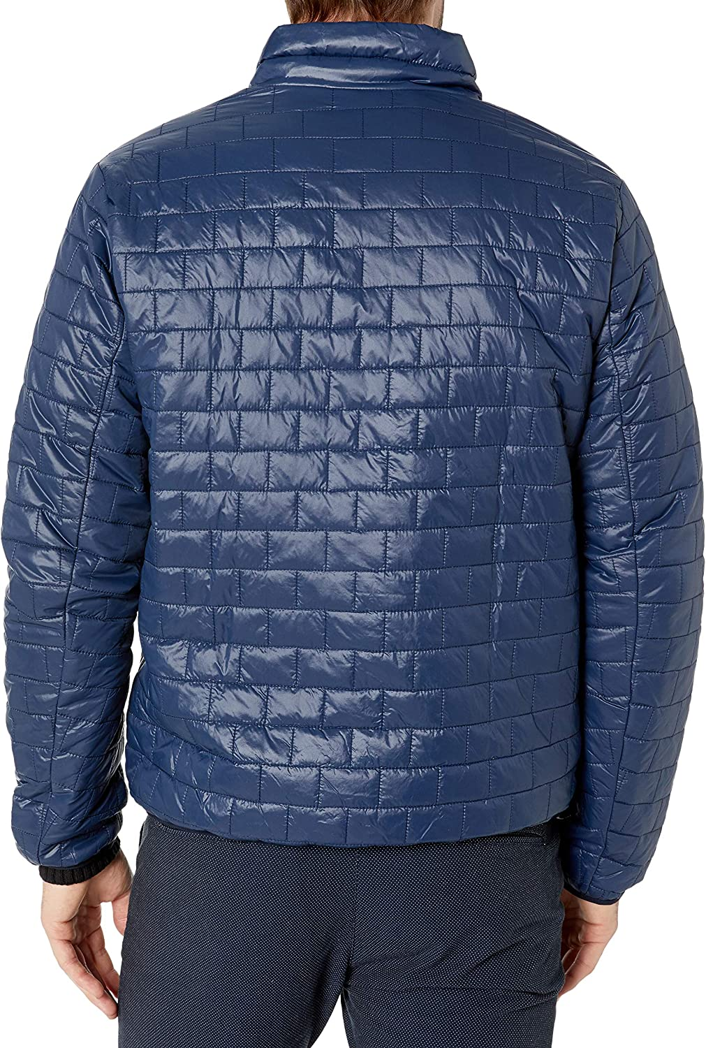 Tommy Hilfiger Mens Ultra Loft Sweaterweight Quilted Packable Jacket