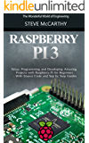 Raspberry Pi: Setup, Programming and Developing Amazing Projects with Raspberry Pi for Beginners - With Source Code and Step by Step Guides (Raspberry Pi Programming Guide Book 1)