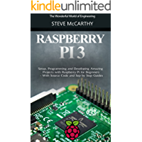 Raspberry Pi: Setup, Programming and Developing Amazing Projects with Raspberry Pi for Beginners - With Source Code and Step by Step Guides (Raspberry Pi Programming Guide Book 1) (English Edition)