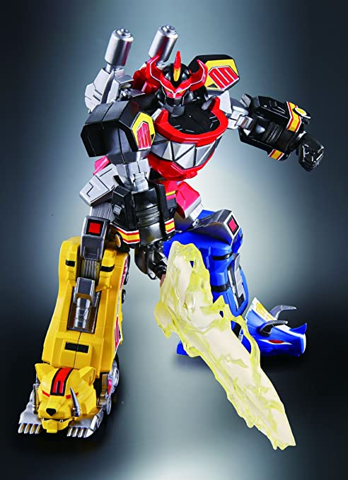 Bandai Tamashii Nations Super Robot Chogokin Megazord Mighty Morphin Power Rangers (japan import)