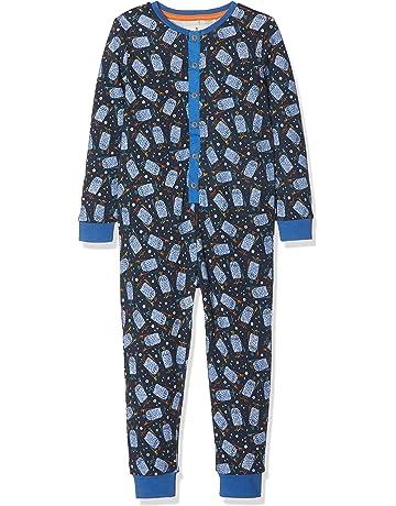 Fat Face Freddie Monster Jersey, Pijama de una Pieza para Niños