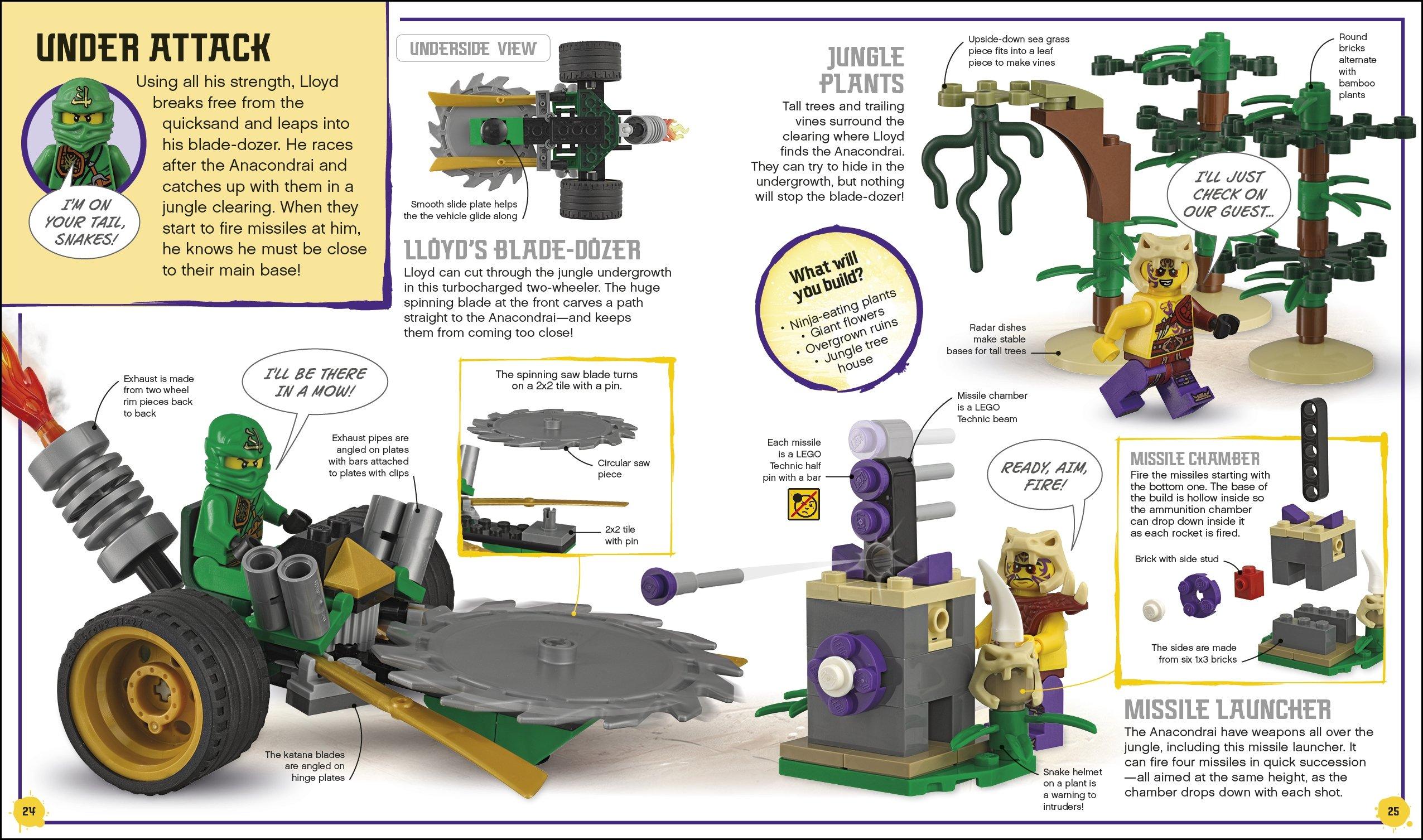 LEGO NINJAGO Build Your Own Adventure Greatest Ninja Battles ...