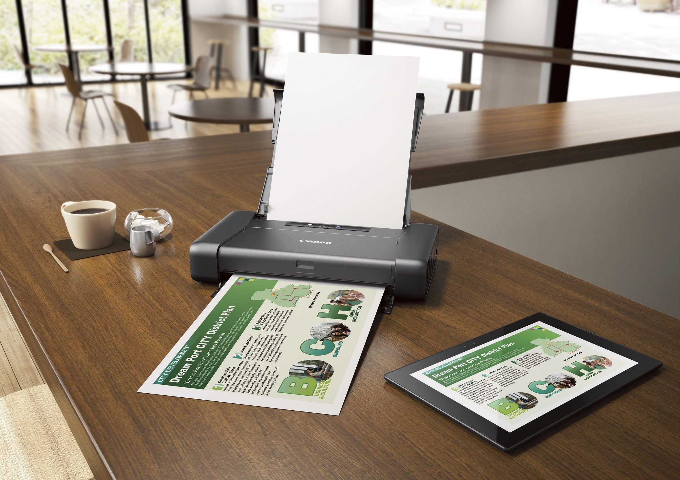 CANON PIXMA iP110 Wireless Mobile Printer With