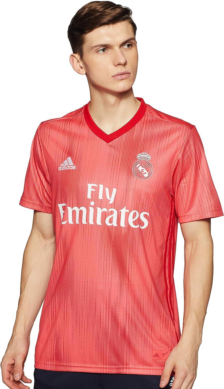 adidas Real 3 Jsy Camiseta Equipación Real Madrid, Hombre