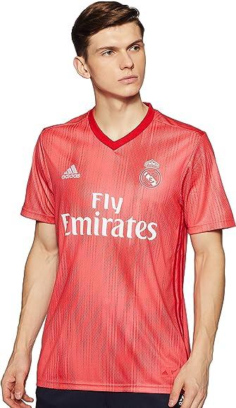 adidas Real 3 JSY Camiseta, Hombre, Multicolor (Correa/rojviv), XS ...