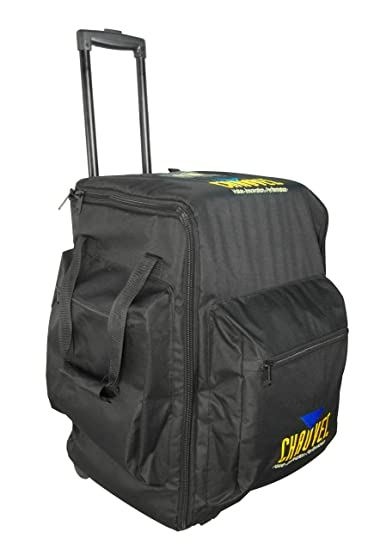 Amazon.com: CHAUVET DJ CHS-50 VIP Large Rolling Travel Bag for DJ ...