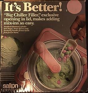 Salton Big Chill Ice Cream Frozen Delight Maker
