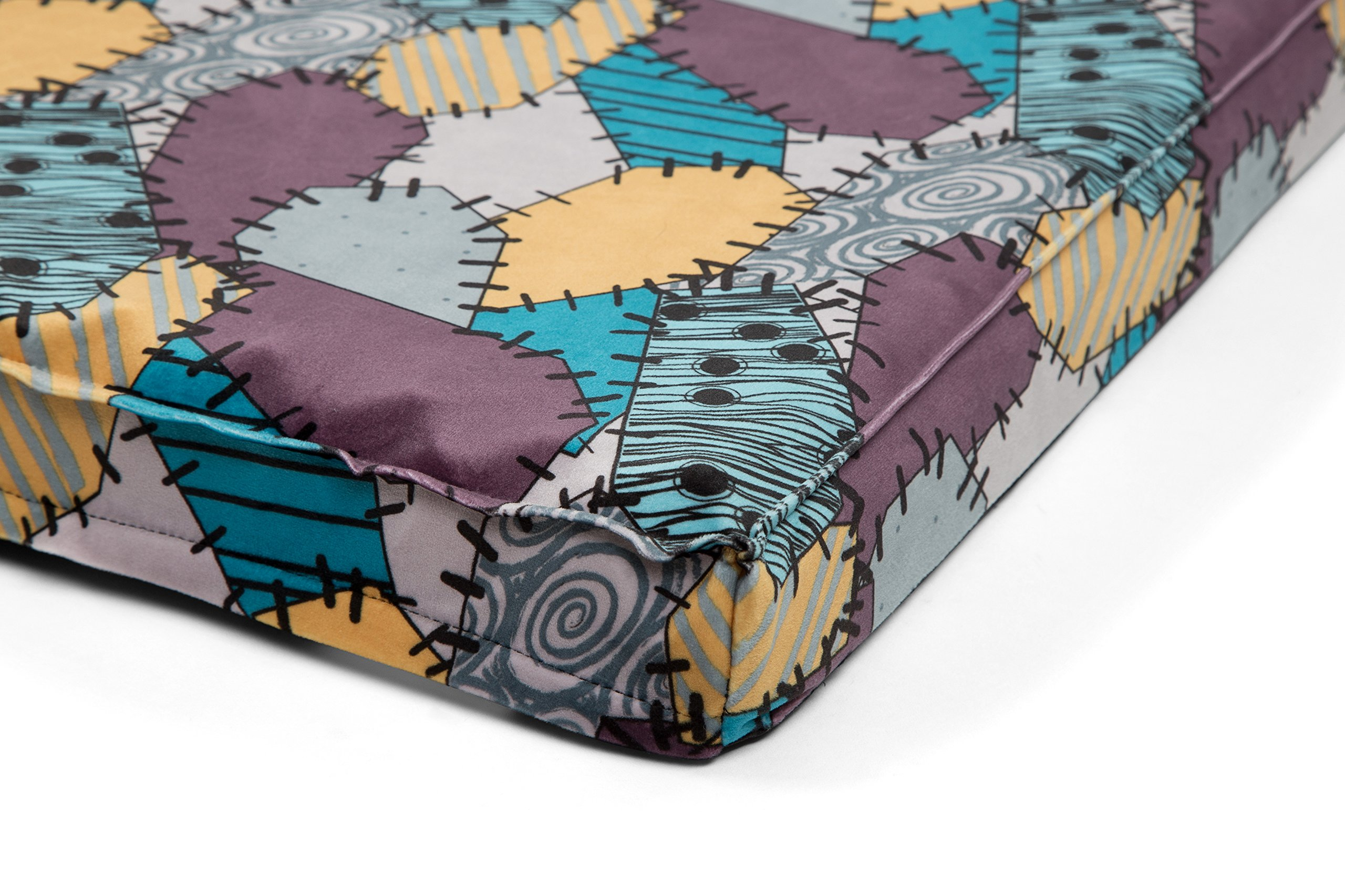 """Disney Nightmare Before Christmas Sally Orthopedic 2.5'' Joint Relief Breathable Dog Bed/Dog Mattress/Crate Mat, 27 x 36 x 2.5"""", Made with High-Density CertiPUR Foam, Dirt/Water Resistant Bottom by Disney (Image #5)"""