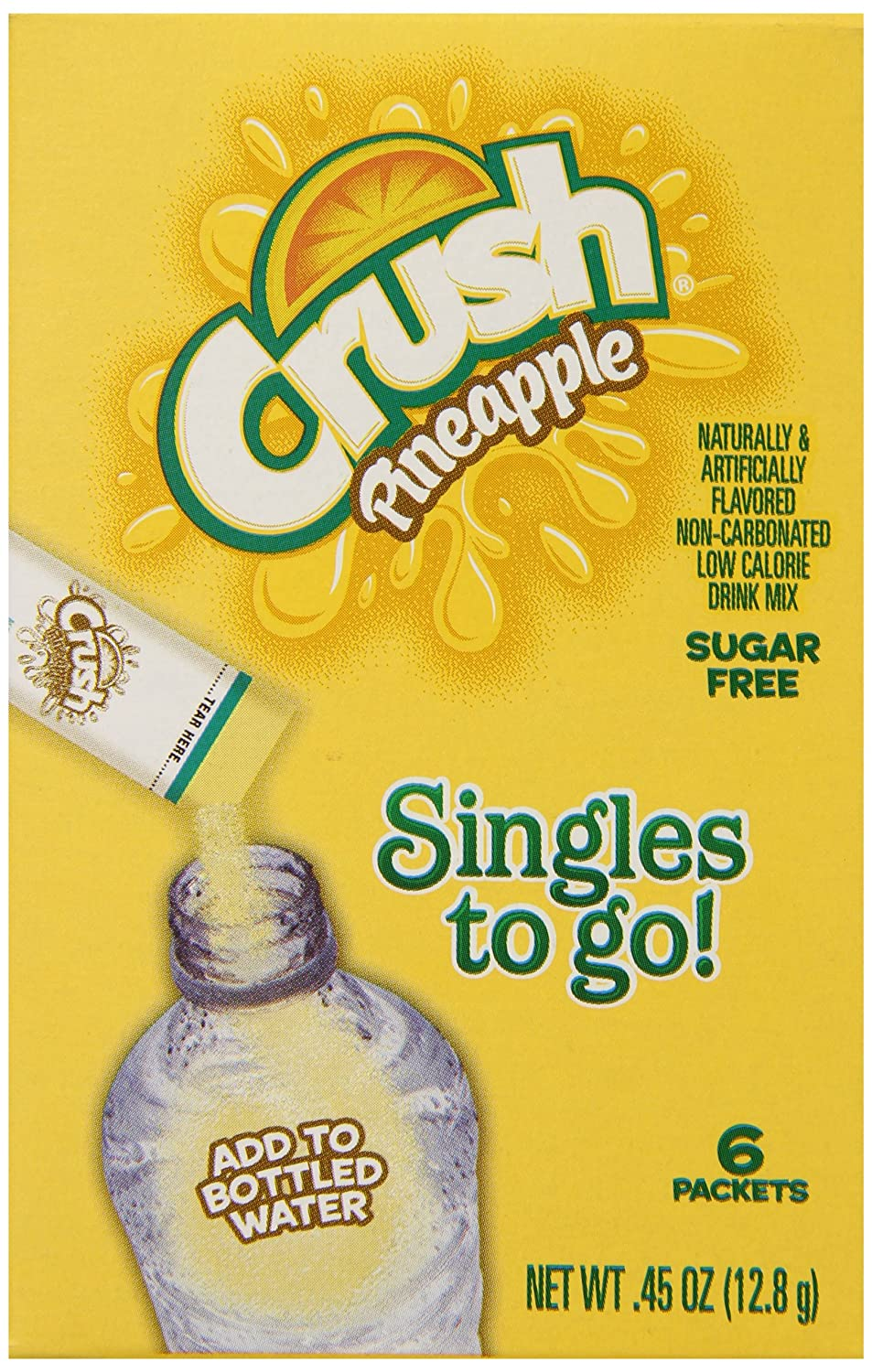 Crush Singles To Go Powder Packets