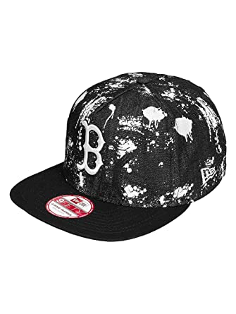 bce906be New Era Men Caps/Snapback Cap SA Crown Boston Red Sox Black M/L: Amazon.co.uk:  Clothing