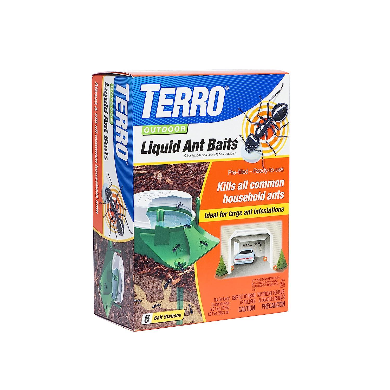 Terro 1806 Outdoor Liquid Ant Baits, 1.0 fl. oz. - 6 count