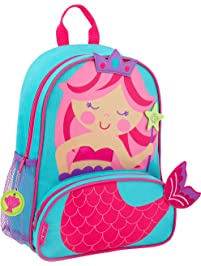 Stephen Joseph Little Girl's Sidekicks Backpack, Accessory, Mermaid, No Size