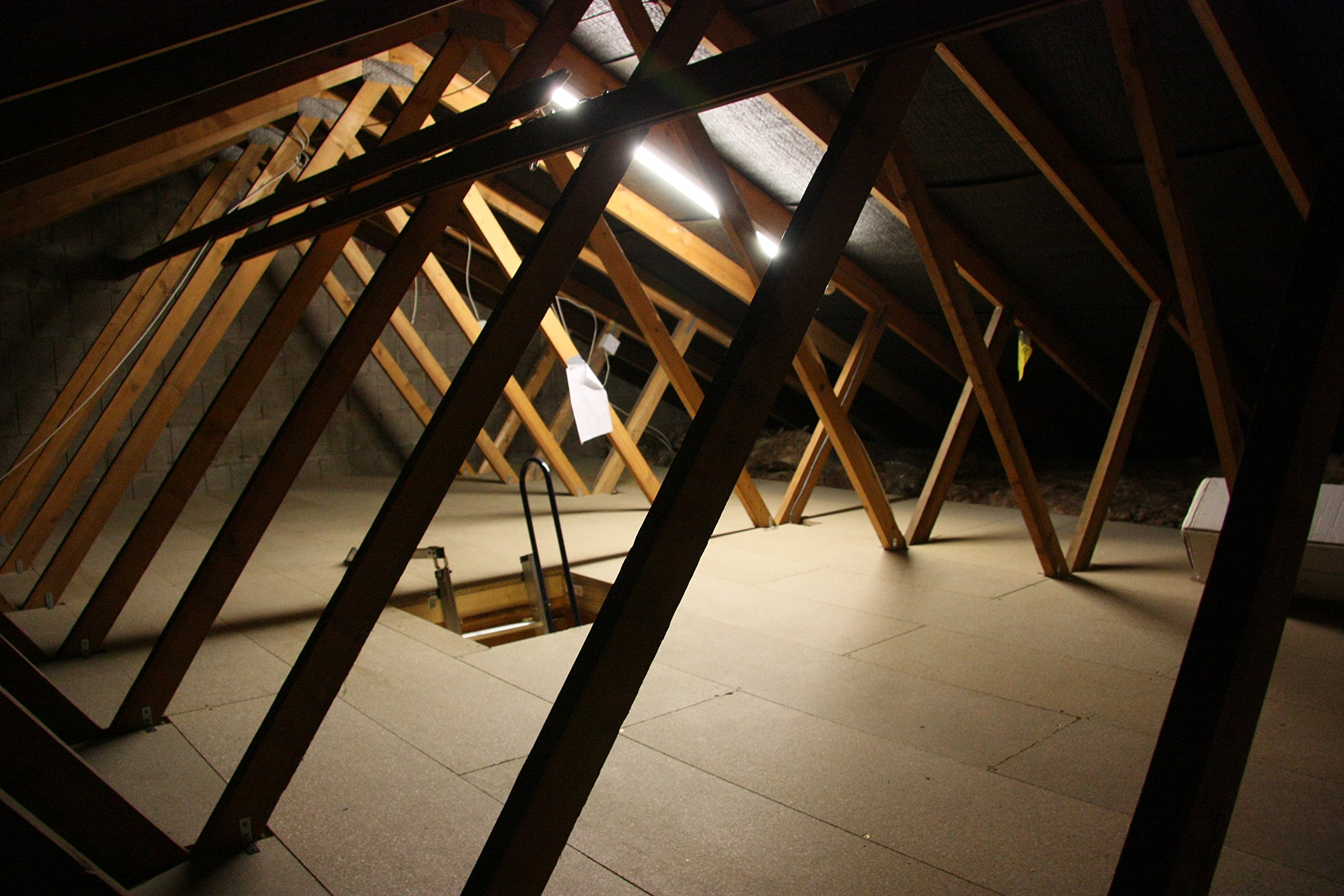 Attic Storage Kit for an Easy-to-fit and Strong Deck Above Your Insulation (16ft X 16ft Kit)
