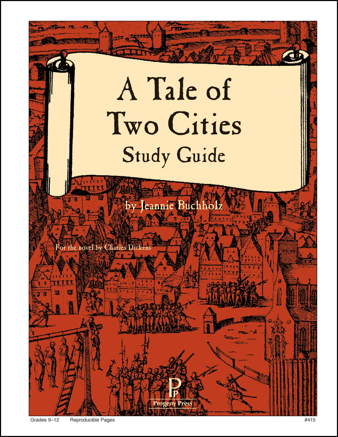 A Tale of Two Cities Study Guide: Jeannie Buchholz: 9781586093846:  Amazon.com: Books