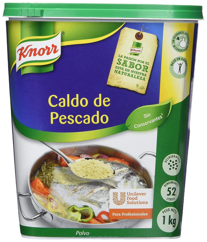 Knorr - Caldo de Pescado - en polvo - 1 kg: Amazon.es ...