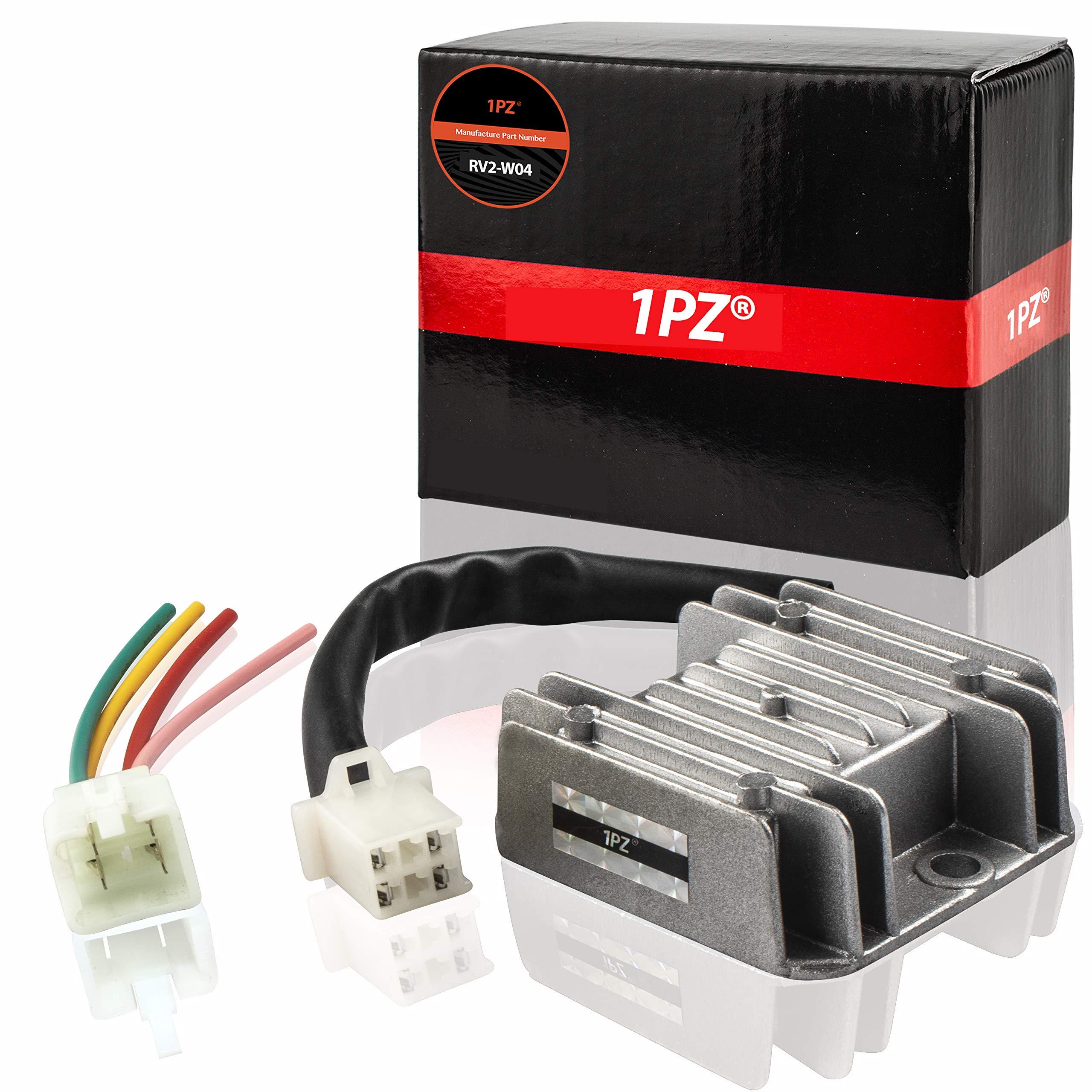 Galleon - 1PZ RV2-W04 4 Wires Voltage Regulator Rectifier For