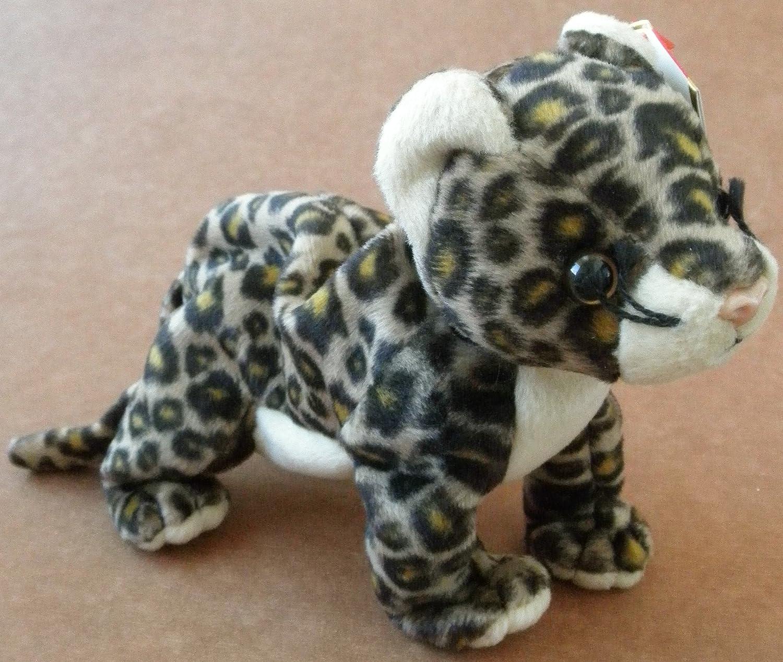 Amazon Com Ty Beanie Babies Sneaky The Leopard Plush Toy Stuffed