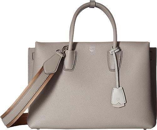 ac16404b15ac2 MCM Women s Milla Tote Arch Grey One Size  Amazon.ca  Shoes   Handbags