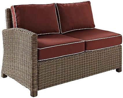Miraculous Amazon Com Crosley Furniture Bradenton Outdoor Wicker Onthecornerstone Fun Painted Chair Ideas Images Onthecornerstoneorg