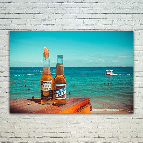 AuBergewohnlich Westlake Art   Poster Print Wall Art   Corona Beer   Modern Picture  Photography Home Decor