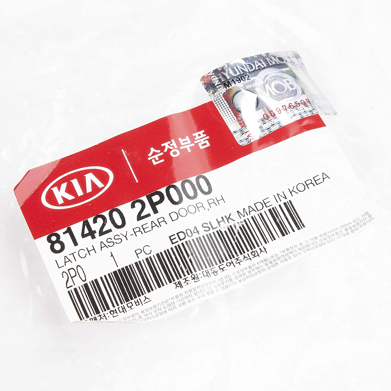 Kia 81420-2P000 Latch Assy-RR DR RH