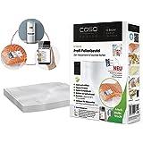 Caso Profi-Sacs - Bolsas de plástico para envasar alimentos (50 unidades, 20 x 30 cm)