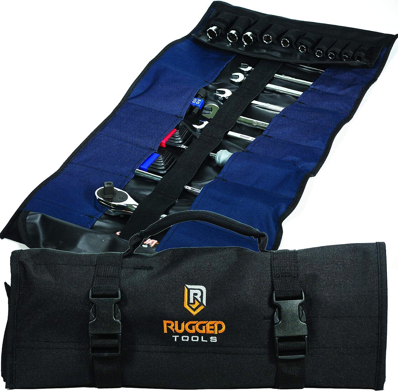 marr/ón bolsa para electricista t/écnico reparador bolsillo peque/ño con 4 bolsillos para cintur/ón de cuero resistente DOITOOL 1 bolsa de herramientas de cuero para electricista