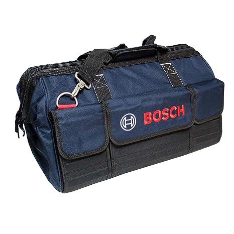 Bosch Professional 1600A003BJ Bosch Mobility-Bolsa de Herramientas tamaño Medio / 1 600 A00 3BJ, Negro, Azul