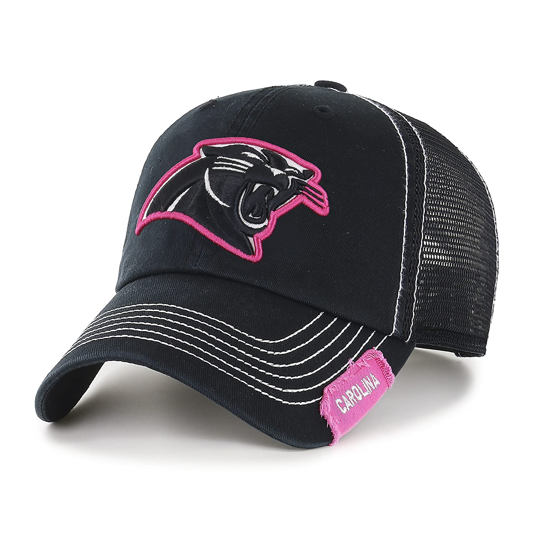 bec20bf41c3686 Amazon.com : NFL Carolina Pantshers Women's Rachel Ots Challenger Adjustable  Hat, Women's, Black : Clothing