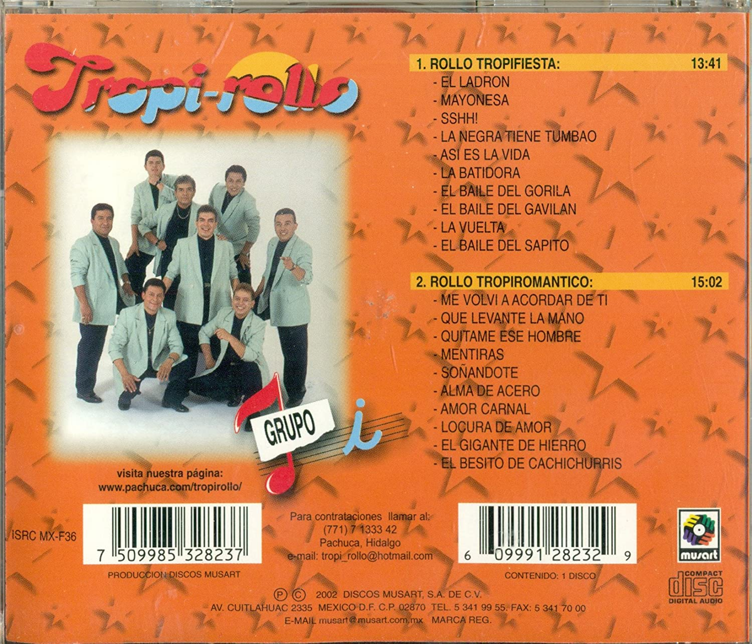 Grupo I - Tropirollo 15 - Amazon.com Music
