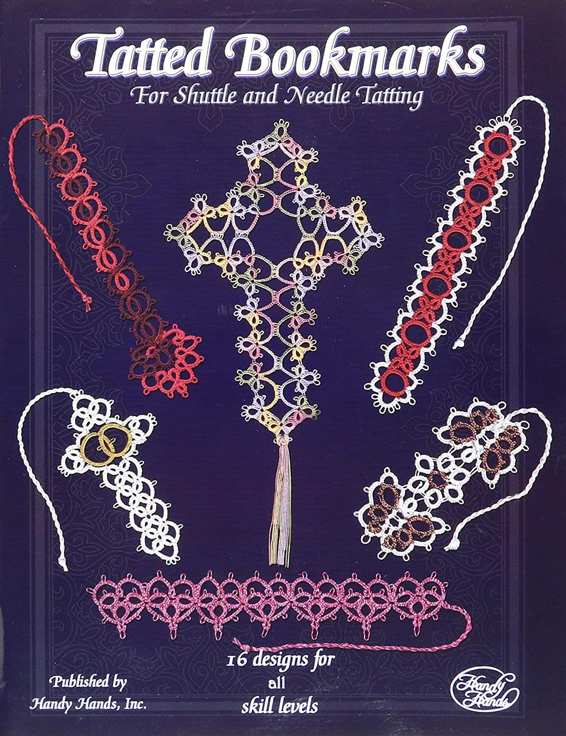 Handy Hands HA-32103 Craft Supplies Tatted Bookmarks Needle and Shuttle T199