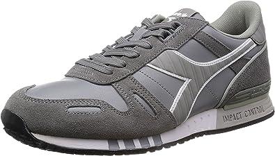 Diadora Titan Leather L/S, Zapatillas de Estar por casa para Hombre, Grigio Grigio Cenere, 40.5 EU: Amazon.es: Zapatos y complementos