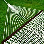 Best Choice Products 2-Person Woven Cotton Rope Double Hammock for Porch,
