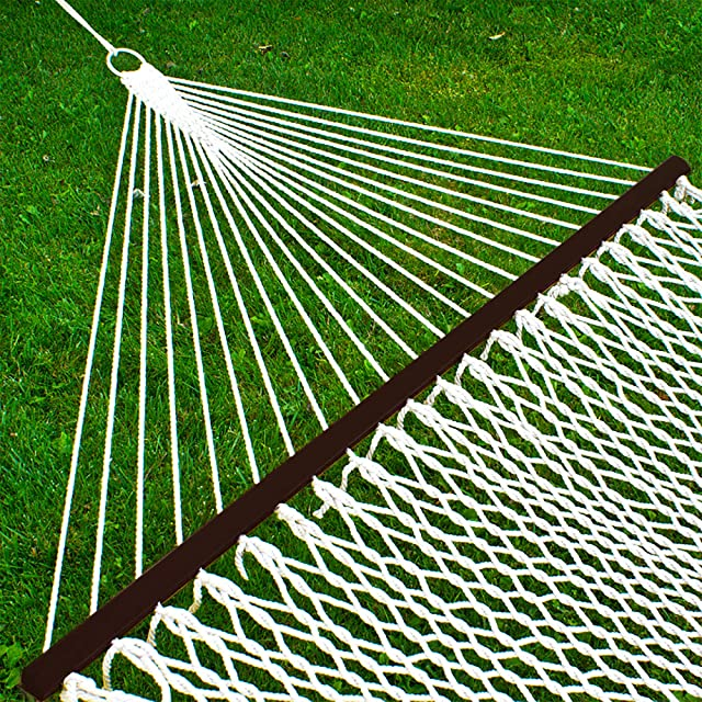 Best Choice Products 2-Person Woven Cotton Rope Double Hammock