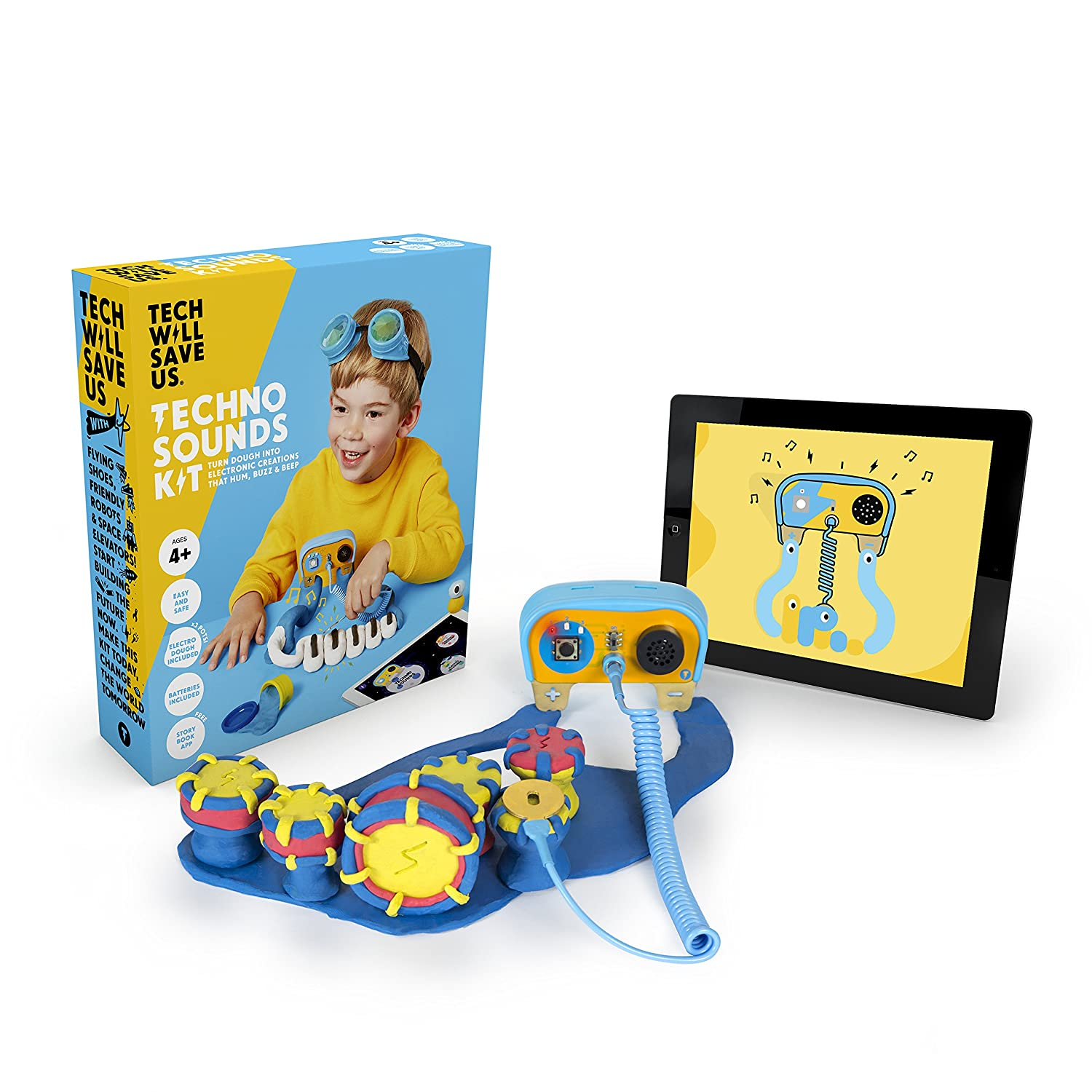 Tech Will Save Us Ages 4 and Up Technolgy Will Save Us 5060402300417 Educational STEM Toy Techno Sounds Kit